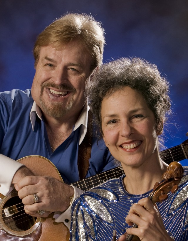 Vernon and Kitty McIntyre, leaders of Cincinnati's premier bluegrass band