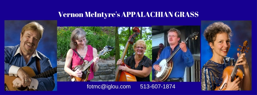 Vernon McIntyre's Appalachian Grass, a traditional style bluegrass band