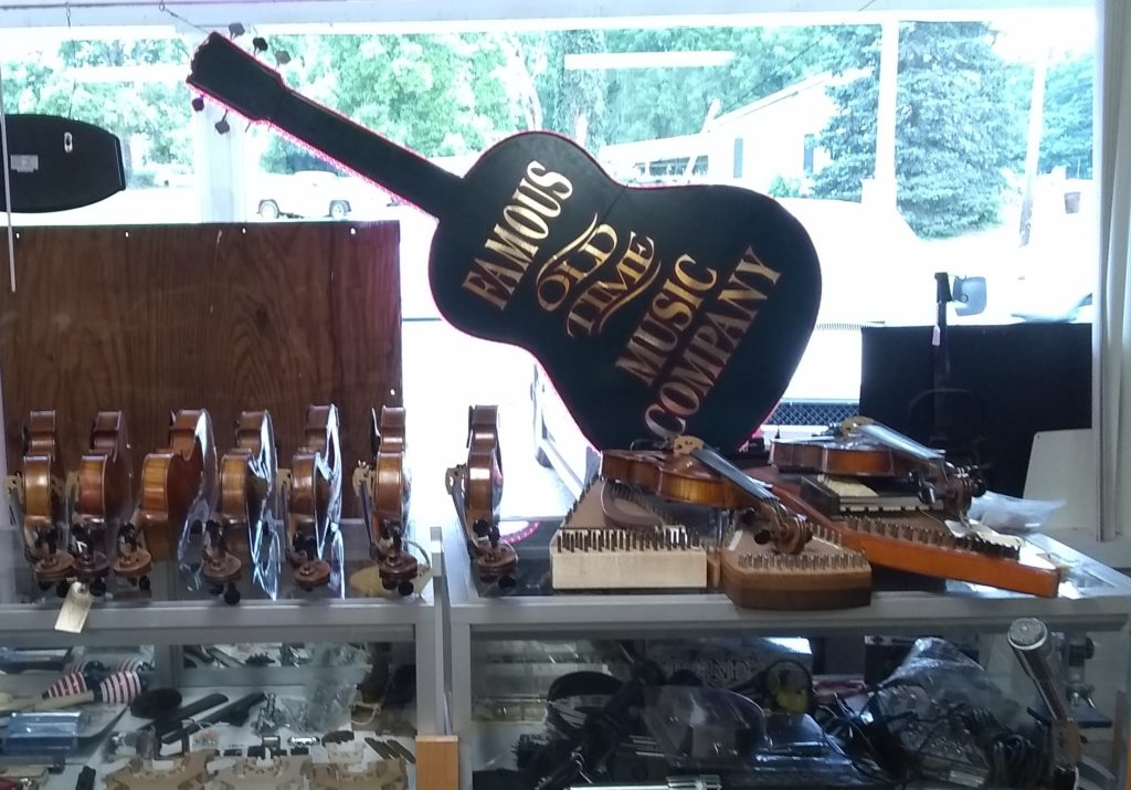 picture 3 of merchandise at Vernon McIntyre's Famous Old Time Music Company